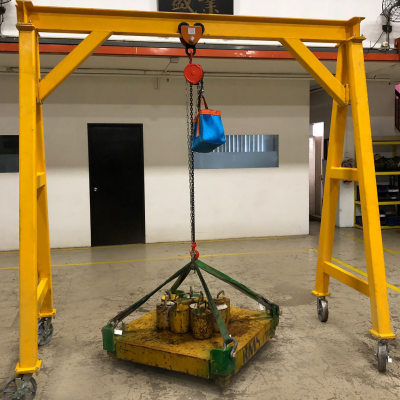 Lifting A Frame